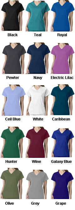 Charlotte V-Neck Scrub Top from Wonder Wink Next® - All Colors