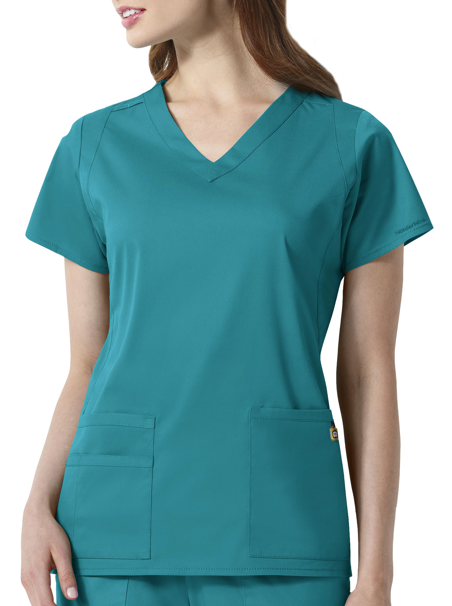 WonderWink Next™ Charlotte Womens V-Neck Scrub Top