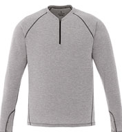 Custom Trimark Mens Quadra Long Sleeve Top