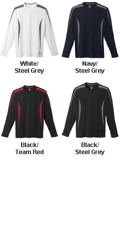 Mens Kemah Long Sleeve Tech Tee - All Colors