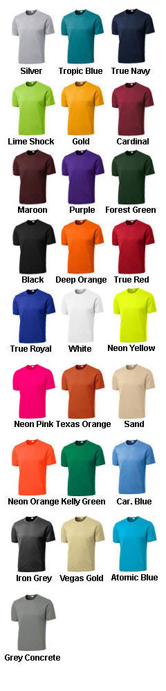 Custom Sport-Tek®  Tall Competitor™ Tee - All Colors