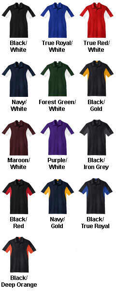 Mens Tall Side Blocked Micropique Sport-Wick® Coaches Polo Shirt - All Colors