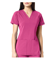 Custom WonderWink HP™ Womens Sync V-Neck Scrub