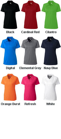 Ladies Lacey Polo - All Colors