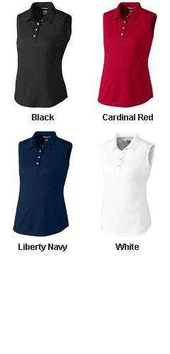 Ladies Sleeveless Clare Polo - All Colors