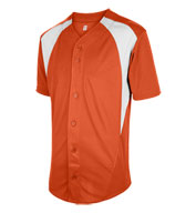 Custom Adult Cutoff Full Button Baseball Jersey