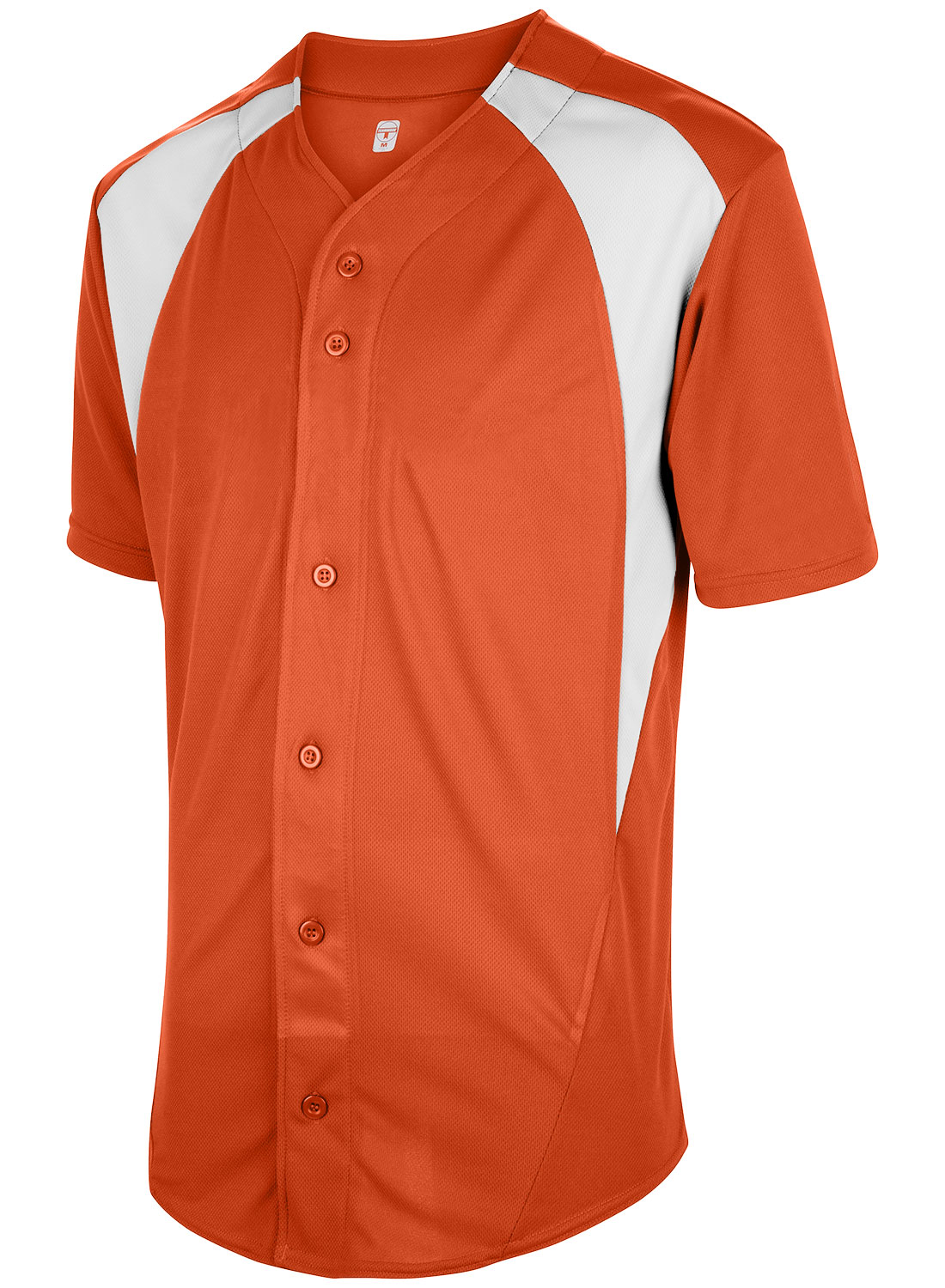 Teamwork Adult Cutoff Full Button Baseball Jersey - CLOSEOUT