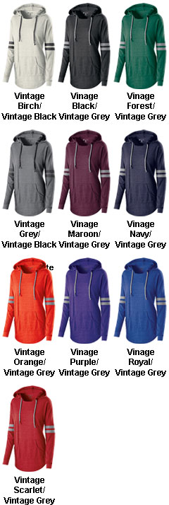 Ladies Hooded Low Key Pullover - All Colors