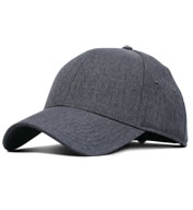 Custom Adult Heathered Linen Cap