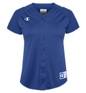 Champion Womens Full-Button Jersey