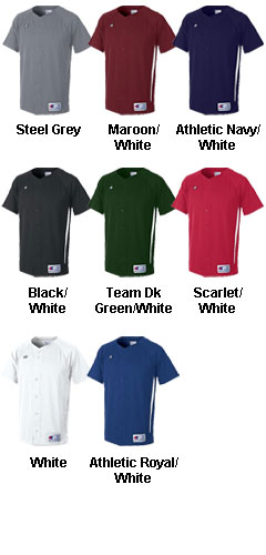 Prospect Double Dry Mens Full Button Jersey - All Colors