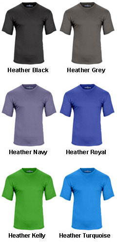 Mens Crew Neck Performance Tee - All Colors