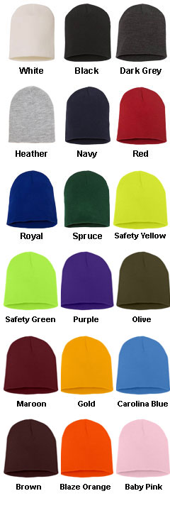 Yupoong Short Beanie - All Colors
