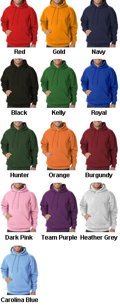 Adult Pullover Hoodie - All Colors