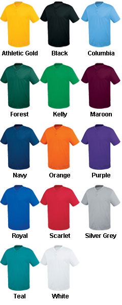 Adult Two-Button Essortex Jersey - All Colors