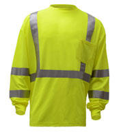 Custom GSS Safety Class 3 Long Sleeve T-Shirt