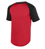 Custom Augusta Adult Wicking Short Sleeve Baseball Jersey