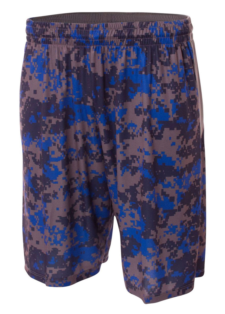 Youth Camo Performance Short
