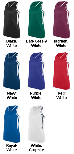Ladies Full Force Jersey Tank - All Colors