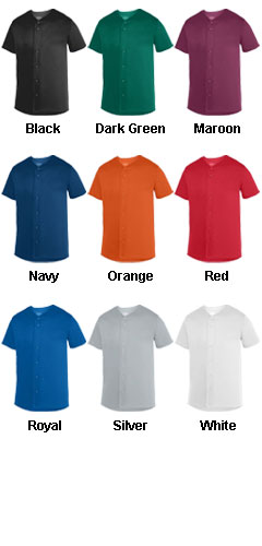 Adult Sultan Baseball Jersey - All Colors
