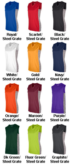 Womens Mettle Basketball Jersey - All Colors