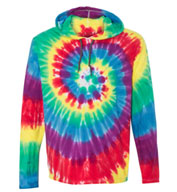 Custom Adult Dyenomite Tie Dyed Hooded Pullover T-Shirt