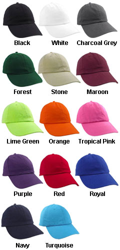 Unconstructed Chino Washed Twill Cap - All Colors