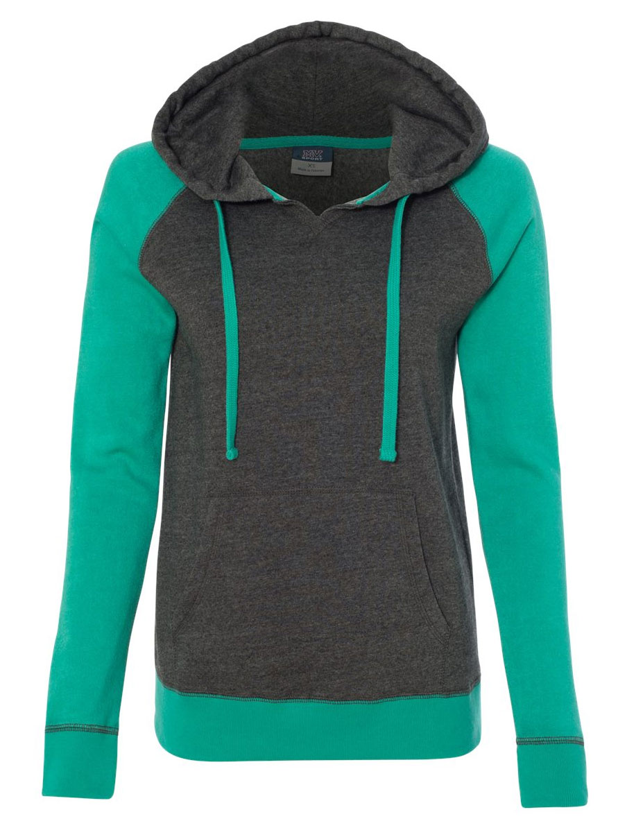 Harper Ladies Raglan Hooded Sweatshirt