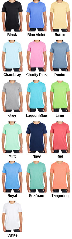 Threadfast Apparel Mens Pigment Dye Short-Sleeve Tee - All Colors