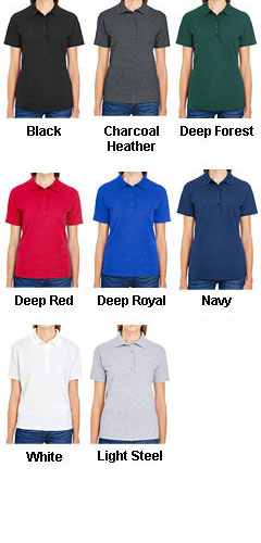 Hanes Womens X-Temp Pique Sport Shirt - All Colors