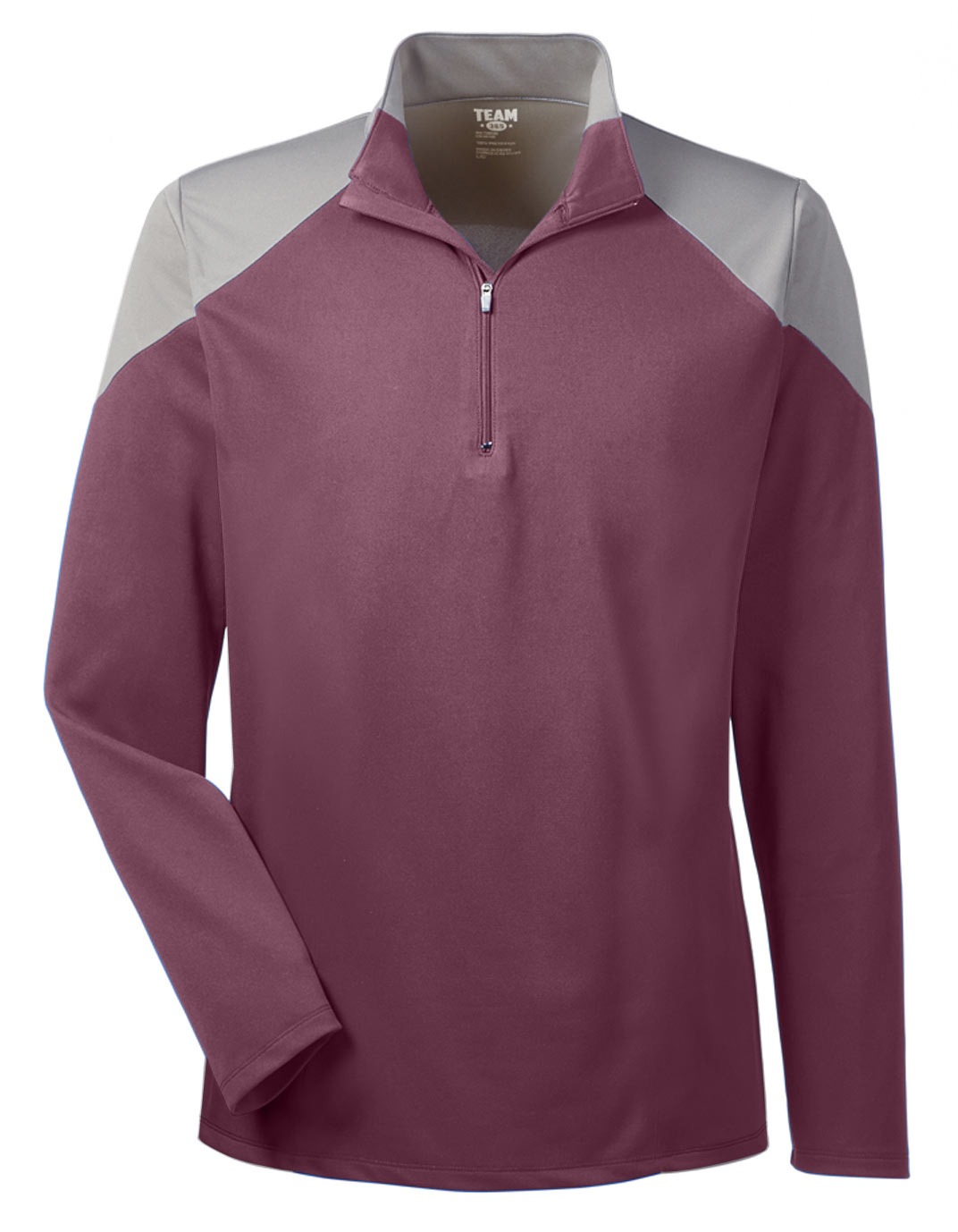 Team 365 Mens Command Colorblock Quarter-Zip