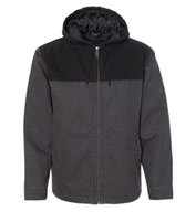 Custom Dri Duck Terrain Mens Hooded Jacket