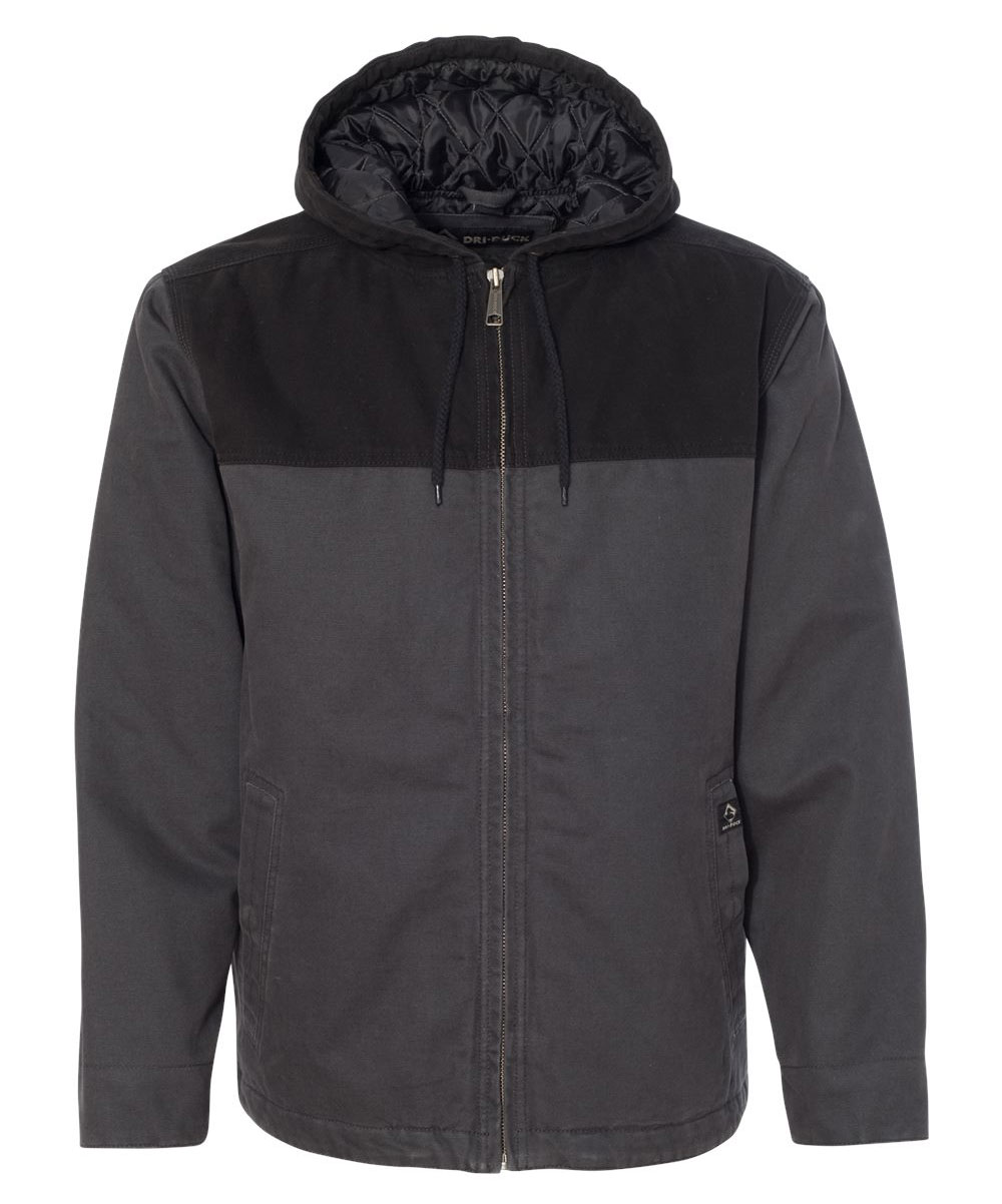 Dri Duck Terrain Mens Hooded Jacket