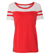 Custom Alternative Apparel Womens Vintage 50/50 Jersey Stadium Tee