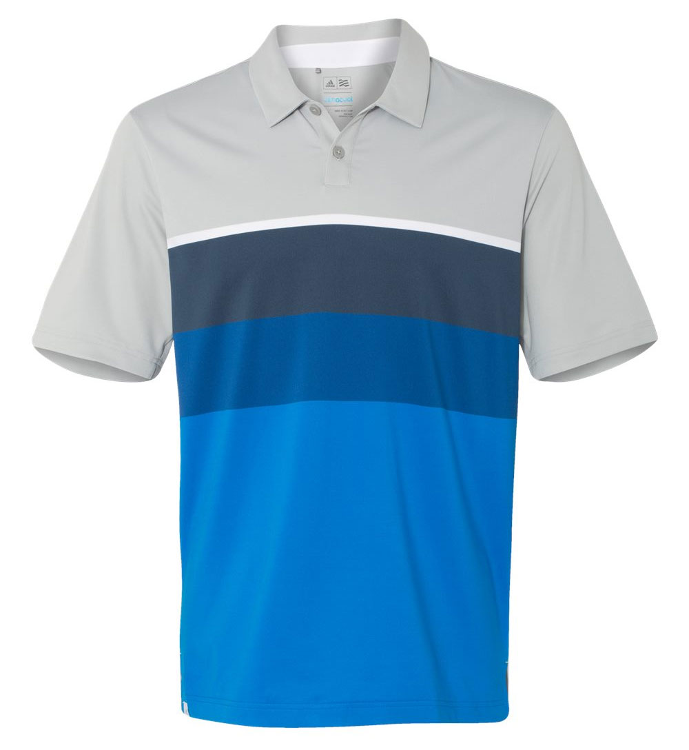 Adidas Climacool® Engineered Stripe Sport Shirt