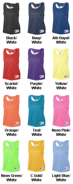 Champion Womens Reversible Pinnie - All Colors