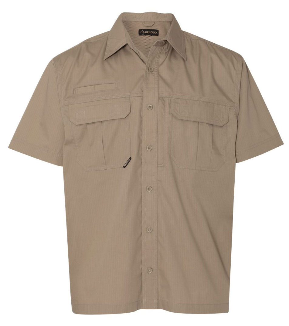 Dri Duck Utility Short Sleeve Ripstop Shirt
