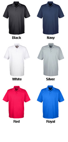 UltraClub Mens Tall Cool and Dry Mesh Pique Polo - All Colors