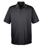 Custom UltraClub Mens Tall Cool & Dry Mesh Pique Polo
