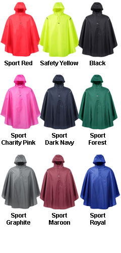 Adult Stadium Packable Poncho - All Colors