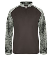 Custom Badger Mens Sport Tonal Blend 1/4 Zip
