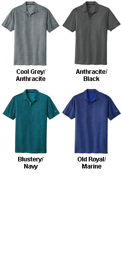 Nike Golf Dri-Fit Crosshatch Polo - All Colors