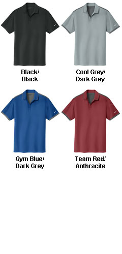 Nike Golf Dri-FIT Mens Stretch Woven Polo - All Colors