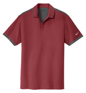 Custom Nike Golf Mens Dri-FIT Stretch Woven Polo