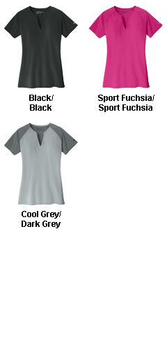 Nike Golf Ladies Dri-FIT Stretch Woven Top - All Colors