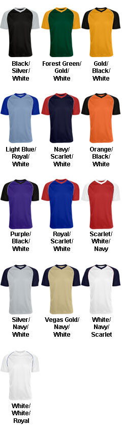 Youth Bunt Mesh Jersey - All Colors