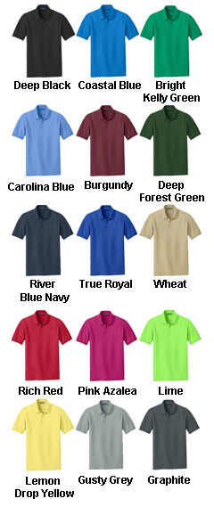 Adult Core Classic Pique Polo - All Colors