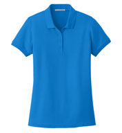 Custom Port Authority® Ladies Core Classic Pique Polo