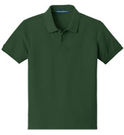Custom Youth Core Classic Pique Polo