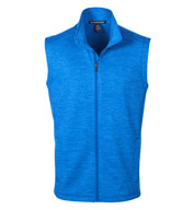 Custom Devon & Jones Mens Newbury Mélange Fleece Vest